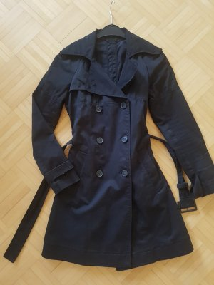 Stefanel Trench Coat black