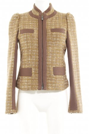 Stefanel Wool Blazer multicolored extravagant style