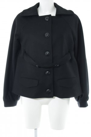 Stefanel Wool Jacket black casual look