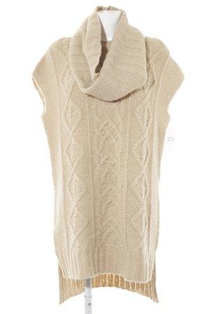 Stefanel Wollkleid beige Casual-Look