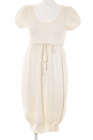 Stefanel Wollkleid creme Casual-Look