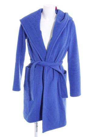 Stefanel Wollmantel blau Casual-Look