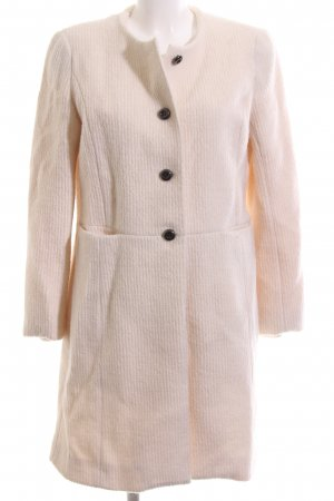 Stefanel Wollmantel creme Casual-Look
