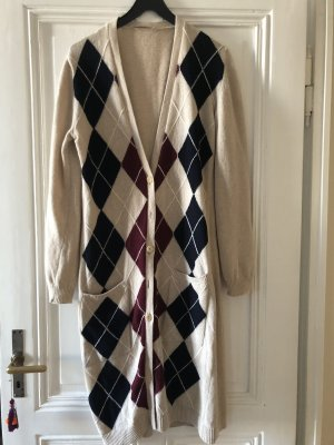 Stefanel Knitted Coat multicolored