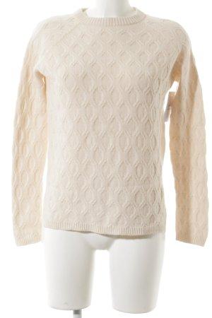 Stefanel Maglione di lana crema