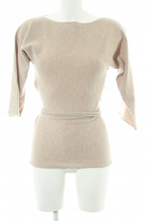 Stefanel Wollpullover creme Casual-Look
