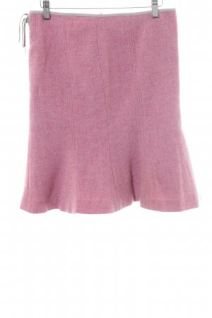 Stefanel Wool Skirt dusky pink simple style