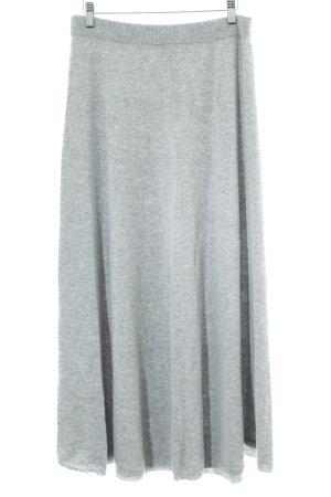 Stefanel Jupe en laine gris style décontracté