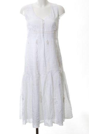 Steffen Schraut A-Linien Kleid weiß schlichter Stil