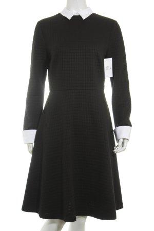 Steffen Schraut Blusenkleid schwarz-weiß klassischer Stil