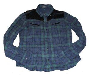 STEFFEN SCHRAUT Hemd Bluse mit Pailletten Gr. 38