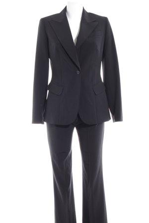Steffen Schraut Tailleur pantalone nero stile professionale