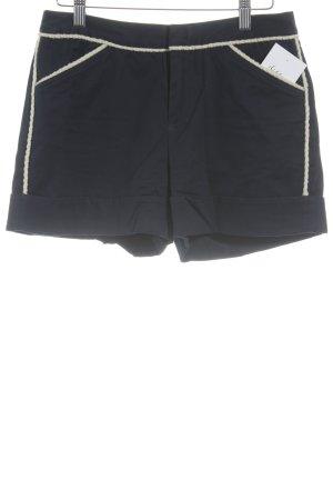 Steffen Schraut Hot Pants creme-blau Casual-Look