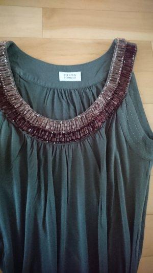 steffen schraut kleid neuwertig khaki 36