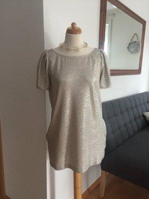 Steffen Schraut Kleid Silber - Gold  Größe 40