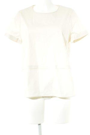 Steffen Schraut Camicetta a maniche corte bianco sporco-crema stile casual