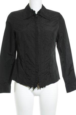 Steffen Schraut Langarm-Bluse schwarz Elegant