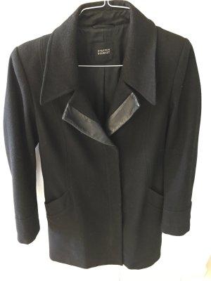 Steffen Schraut Manteau en laine noir laine
