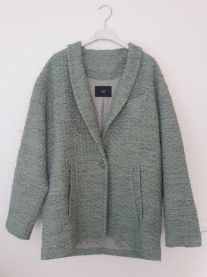 Steffen Schraut Oversized Jacket mint-beige cotton