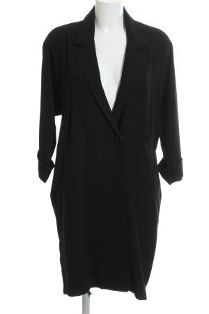 Steffen Schraut Oversized Mantel schwarz Elegant