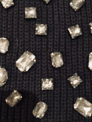 STEFFEN SCHRAUT Schal Strick Kristallen schwarz neuwertig 170€