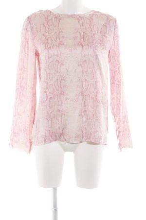 Steffen Schraut Schlupf-Bluse pink Animalmuster Elegant