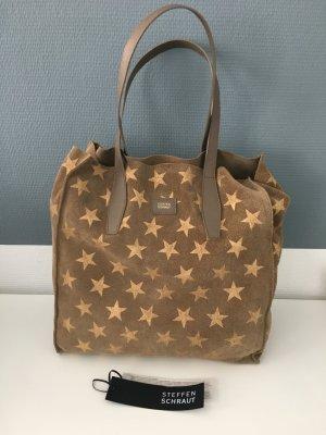 Steffen Schraut shopper Tasche mit Sternen neu