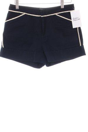 Steffen Schraut Shorts dunkelblau-creme Casual-Look