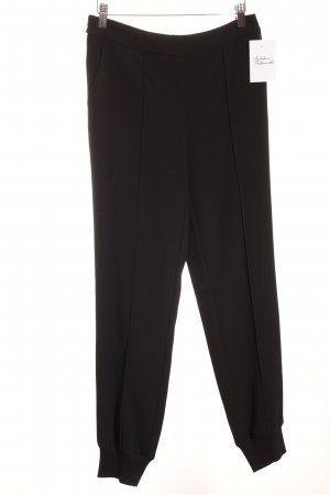 Steffen Schraut Pantalon en jersey noir style simple