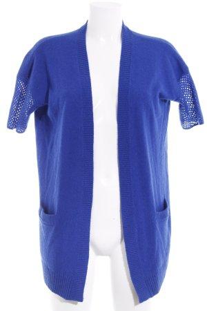 Steffen Schraut Giacca in maglia blu stile casual
