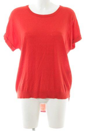 Steffen Schraut Camicia maglia rosso stile casual