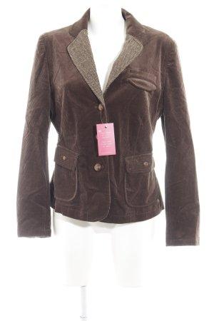 Steffen Schraut Tweed blazer grijs-bruin-wolwit country stijl