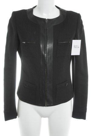 Steffen Schraut Tweed blazer zwart elegant