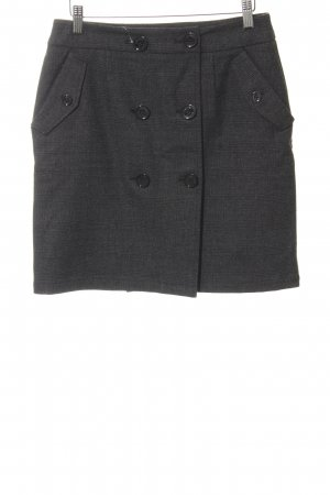 Steffen Schraut Wool Skirt dark grey business style