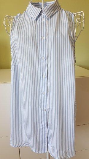 H&M Blusa de cuello alto multicolor