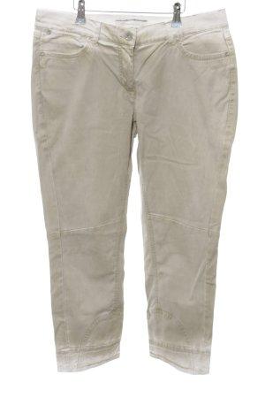 Stehmann Jeans a 7/8 bianco sporco stile da moda di strada