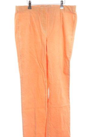 Stehmann Pantalon strech orange clair style décontracté