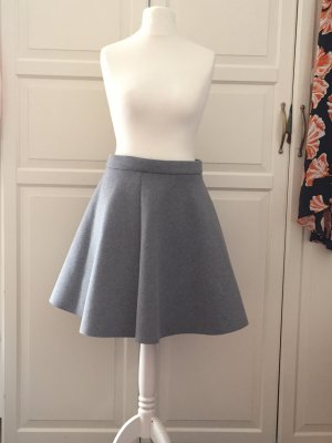 COS Circle Skirt grey