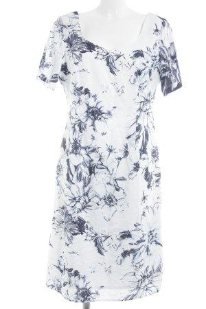 Steilmann Abendkleid florales Muster Elegant