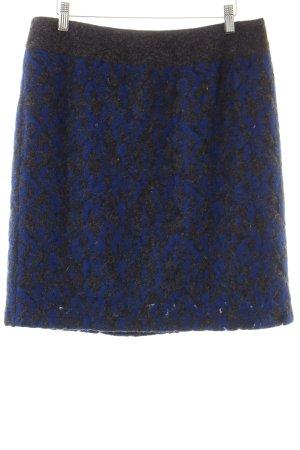 Steilmann Bleistiftrock grau-blau Casual-Look