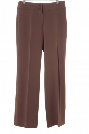 Steilmann Bundfaltenhose braun Business-Look