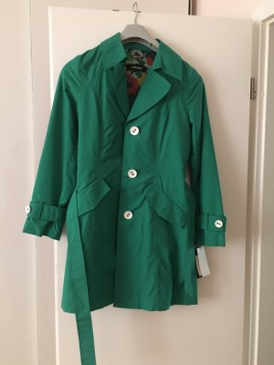 Steilmann grüne Trenchcoat 34 / 36, NEU