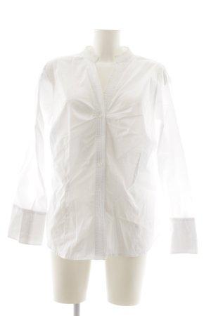 Steilmann Langarm-Bluse weiß klassischer Stil