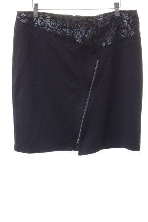 Steilmann Minirock schwarz-anthrazit Elegant