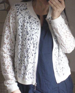 Steilmann premium casual style, wunderschönes edles Spitzenjäckchen, Blouson
