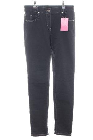 Steilmann Slim Jeans schwarz Casual-Look