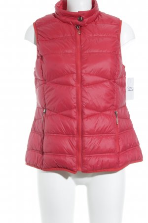 Steilmann Quilted Gilet red casual look