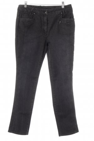 Steilmann Straight-Leg Jeans anthrazit Casual-Look