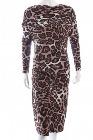Steilmann Stretchkleid Leomuster Animal-Look