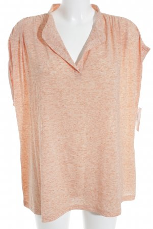 Steilmann T-Shirt apricot meliert Casual-Look